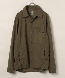 SAVE KHAKI/SKU SUPIMA FLEECE LINED SHIRT JACKET/501197509