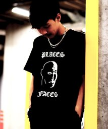 PULP/【PULP】PLACES+FACES FACE LOGO TEE/501197526