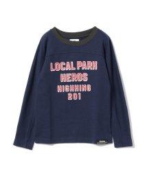 こどもビームス/highking / local ロゴ ロングスリーブ Tシャツ (ボーイズ ガールズ 130~140cm)/501197877