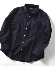 SHIPS MEN/SU: スタンドワイヤー ドビーシャツ/501198061
