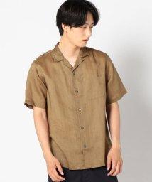 SHIPS MEN/SC: ファイン ラミー オープンカラーシャツ/501198064