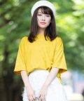 ANDJ/三ツ星刺繍ゆるTシャツ/501198316