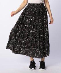 NOLLEY'S/割繊小花柄インゴムギャザースカート/501192130