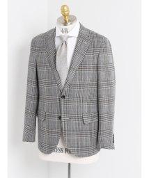 TAKA-Q/MARLING&EVANS グレンチェックシングルジャケット レギュラーフィット/501198354