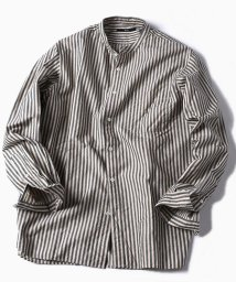 SHIPS MEN/SC: SOFIABLE コットン バンドカラー シャツ/501198902