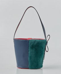 LANVIN en Bleu/ワンショルダーファーバッグ/501199190