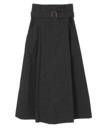 titivate/ウエストベルト付マキシスカート/501199270