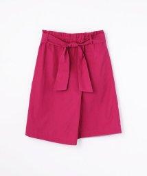 MACPHEE/コットントロピカル ベルテッドスカート/501199618