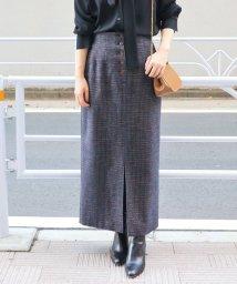 IENA/ボタンフライモールタイトスカート◆/501199733