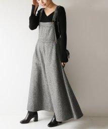 Spick & Span/【MITTERNACHT】 ツイードマキシジャンパースカート◆/501200100