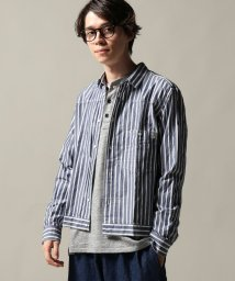 JOURNAL STANDARD/FINGER FOX AND SHIRTS/ フィンガー&フォックスシャツ : Stripe Pleated シャツ/501202177