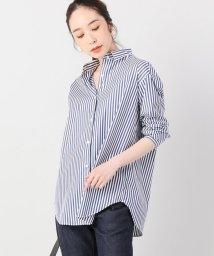 journal standard  L'essage /ストライプタイプライター2WAYシャツ/501202803