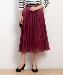 Rouge vif la cle/【定番新色】サテンギャザースカート2/501112712