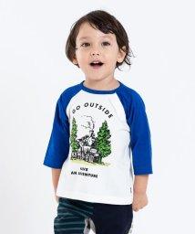 SHIPS KIDS/SHIPS KIDS:ベビー プリント ラグラン 7分袖 TEE(80~90cm)/501205446