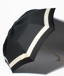 pink trick/【晴雨兼用傘】 パールリボン 折傘  (UVカット&軽量)/501182539