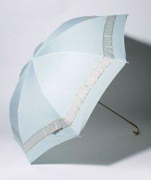 pink trick/【晴雨兼用傘】 パールリボン 折傘  (UVカット&軽量)/501182541
