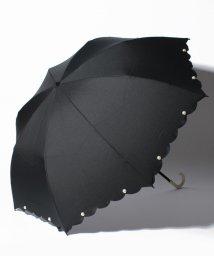 pink trick/【晴雨兼用傘】 スカラップパール 折傘  (UVカット&軽量)/501182542