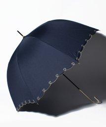 pink trick/【晴雨兼用傘】 ハートライン 長傘  (UVカット&軽量)/501182544