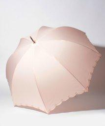 pink trick/【晴雨兼用傘】 ハートライン 長傘  (UVカット&軽量)/501182545