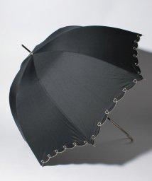 pink trick/【晴雨兼用傘】 ハートライン 長傘  (UVカット&軽量)/501182546