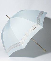 pink trick/【晴雨兼用傘】 パールリボン 長傘  (UVカット&軽量)/501182549