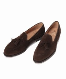 EDIFICE/CROCKETT&JONES / クロケットケット&ジョーンズ Cavendish3 BrownSuede(375)/501221478