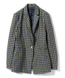 Ray BEAMS/sister jane / Check Blazer/501138626