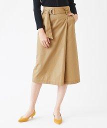 titivate/フェイクラップタイトスカート/501197304