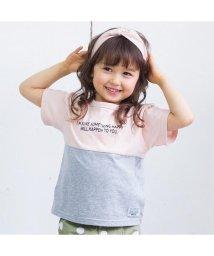 BREEZE / JUNK STORE/ネット限定BIGシルエット切り替えTシャツ/501214844
