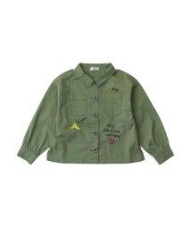 ALGY/ミリタリーシャツジャケット/501216980