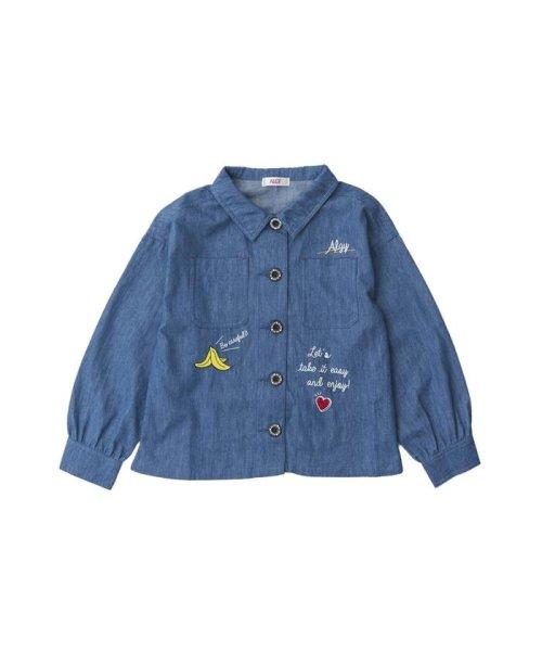 ALGY(アルジー)/ミリタリーシャツジャケット/G408018