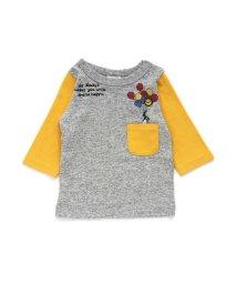 BREEZE / JUNK STORE/7分袖切替Tシャツ/501217863