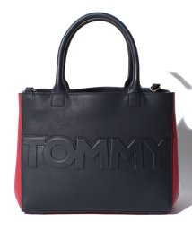 TOMMY HILFIGER WOMEN/【WEB限定】Tommyロゴサッチェルバッグ/501195837