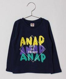 ANAP KIDS/手書きロゴロンTシャツ/501201602