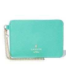LANVIN en Bleu(BAG)/リュクサンブールカラーパスケース/501223193