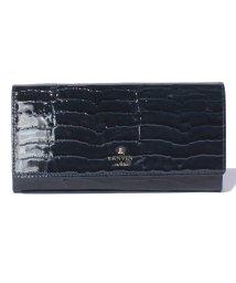 LANVIN en Bleu(BAG)/マゼンダフラップ長財布/501223203