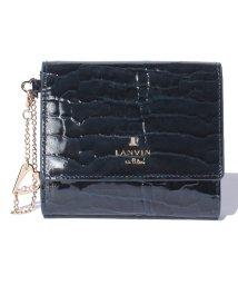 LANVIN en Bleu(BAG)/マゼンダ2つ折り財布/501223205