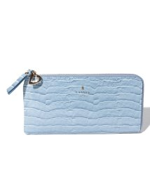 LANVIN en Bleu(BAG)/マゼンダLファスナー長財布/501223208