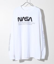 417 EDIFICE/NASA / ナサ 417別注 WORM LOGO L/S TEE/501223493