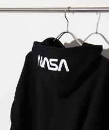 417 EDIFICE/NASA / ナサ 417別注 WORM LOGO HOODIE SWEAT/501223494