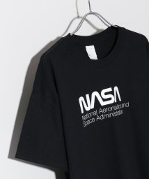 417 EDIFICE/NASA / ナサ 417別注 WORM LOGO TEE/501223495