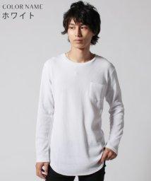 THE CASUAL/(バイヤーズセレクト) Buyer's Select ワッフルクルーネックロングカットソー/501223865