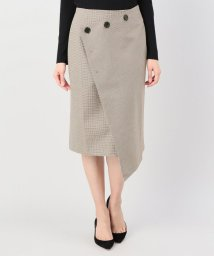 JOINT WORKS/KINDERSALMON BUTTONWRAP SKIRT/501224802