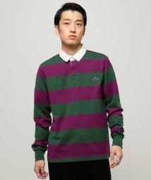 BEAMS MEN/LACOSTE × BEAMS / 別注 ラガーシャツ/501224804