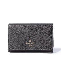 LANVIN en Bleu(BAG)/リュクサンブール 名刺入れ/501224852