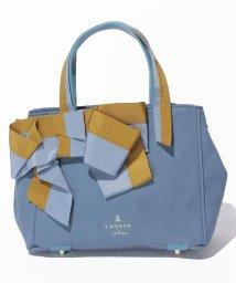 LANVIN en Bleu(BAG)/マリアンヌ リボン2wayトートバッグ/501224860