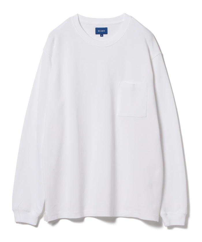 BEAMS / カノコ ポケット Tシャツ