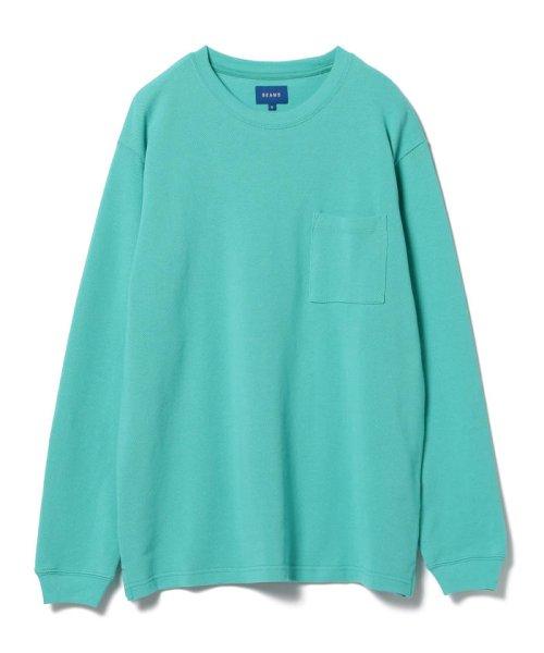 BEAMS OUTLET(ビームス アウトレット)/BEAMS / カノコ ポケット Tシャツ/11140169803