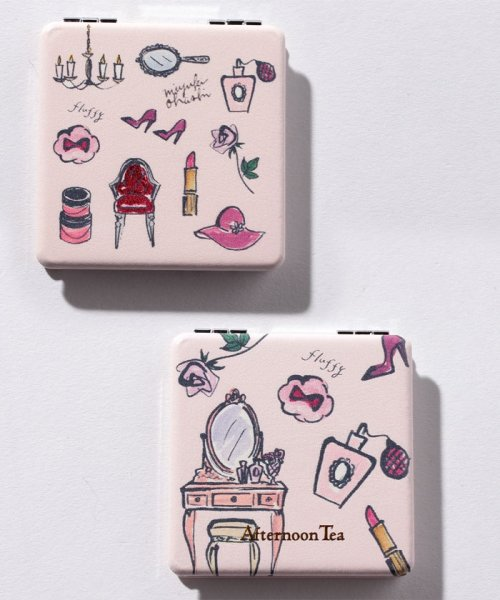 Afternoon Tea LIVING(アフタヌーンティー・リビング)/フェミニン柄ミニミラー/FN8418105833