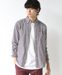 coen/シェパードチェックボタンダウンシャツ/501194771